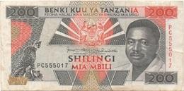 Tanzanie : 200 Shilingi ND : Moyen état - Tansania