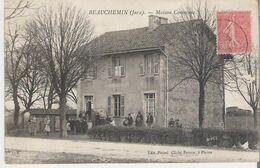 BEAUCHEMIN. CPSM Voyagée  Maison Commune - Other Municipalities