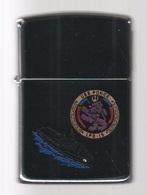 ZIPPO - U.S.S. PONCE  LPD-15 - Chromé, Année 1990  (jamais Servi) -  SB - 16 - Zippo
