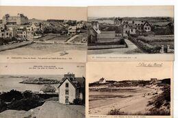 LOT 10 CPA - BRETAGNE - TREGASTEL - Vue Générale - 5 - 99 Postcards