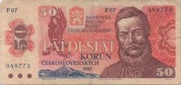 Tchécoslovaquie : 50 Korun 1987 - Qatar