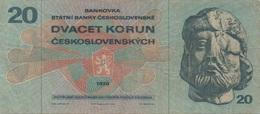 Tchécoslovaquie : 20 Korun 1970 - Qatar