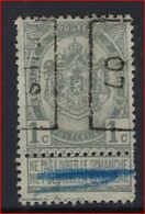 Rijkswapen Nr. 53 Voorafgestempeld Nr. 861 Positie B   DIEST 07  ; Staat Zie Scan ! Inzet Aan 10 € ! - Roller Precancels 1900-09