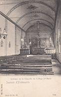 Souvenir D'Audenaerde - Intérieur De La Chapelle Du Collège Ste Marie - Oudenaarde