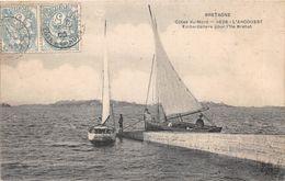 L'ARCOUEST - Embarcadère Pour L'Ile De Brehat - Voilier - France