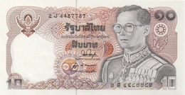 Thaïlande : 10 Baht UNC - Tailandia