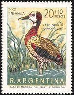 MDB-BK2-095-3 MINT MNH ¤ ARGENTINA 1969 2w In Serie ¤ BIRDS OF THE WORLD - BIRDS - VOGELS - OISEAUX - AVES - Passereaux