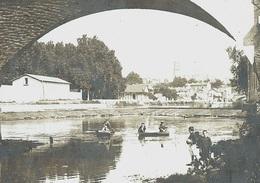 Photo Réelle 11x9cm - FRANCE 24 - PÉRIGUEUX - à La Pêche - ARCHIVES Théodore LHUILLIER - 1905-1907 - Périgueux