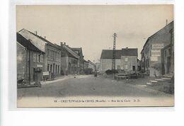 CREUTZWALD - Rue De La Croix - Creutzwald