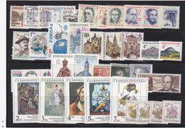 Tschechoslowakei, Kpl. Jahrgang 1991** (K 6433) - Czechoslovakia