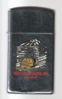 Poste De La Baleine - Que  ( ᑰᑦᔪᐊᕌᐱᒃ Ou Kuujjuaraapik ) Chromé, Année 1978 -  SB - 18 - Zippo