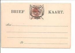 Oranje Vrijstaat. Briefkaart Half Penny - Stato Libero Dell'Orange (1868-1909)