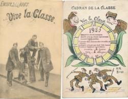 2 CP Vive La Classe Ath 1920 & PMB/BMP 4 1924 Naar Grimbergen - Ath