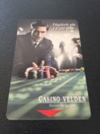 Hotelkarte Clef De Hotel Tarjeta Hotel Room Key  CASINOHOTEL VELDEN - Phonecards