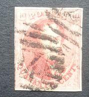 BELGIE   1958     Nr. 12     Gestempeld    CW  90,00 - 1858-1862 Medallions (9/12)