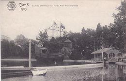 Gent Gand   Exposition Internationale 1913 - UN Coin Pittoresque Du Lac Et Parc Desatractions - Gent