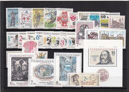 Tschechoslowakei, Kpl. Jahrgang 1992** (K 6434) - Czechoslovakia