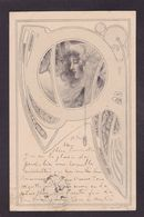 CPA MM VIENNE Sans Numéro Viennoise Femme Girl Woman Circulé Art Nouveau - Vienne