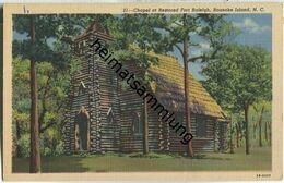 North Carolina - Roanoke Island - Fort Raleigg - Chapel - Etats-Unis