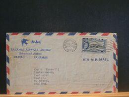 89/298 FRONT OF  LETTER  BAHAMAS  1960 - Bahamas (1973-...)