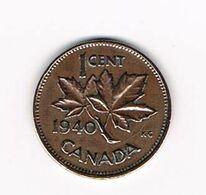 //  CANADA  1 CENT 1940 - Canada