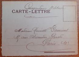 Carte Lettre.correspondance Militaie1918.G2/24 - 1914-18