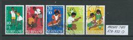 SURINAM MICHEL SATZ 528 - 532 Gestempelt Siehe Scan - Suriname