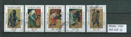 SURINAM MICHEL SATZ 608 - 612 Gestempelt Siehe Scan - Suriname