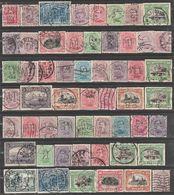 Belgique. Roi Albert I. émission 1915.  76 Perfins Différents. - Unclassified