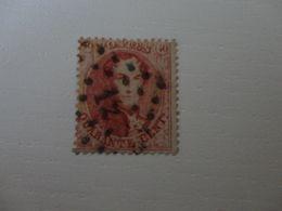 TIMBRE DE BELGIQUE 16B   D14 1/2 OBLITERE - 1849-1850 Medallions (3/5)