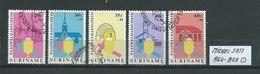 SURINAM MICHEL SATZ 864 - 868 Gestempelt Siehe Scan - Suriname