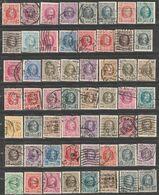 "Belgique. Roi Albert I.  ""Houyoux"".  77  Perfins Différents. - Unclassified"