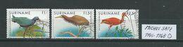 SURINAM MICHEL SATZ 1146 - 1148 Gestempelt Siehe Scan - Suriname