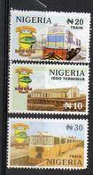 1999  NIGERIA - Railway - Nigeria (1961-...)