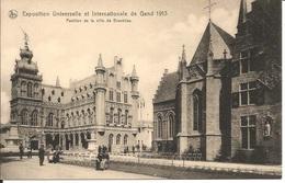 BELGIQUE  /  GENT  GAND  -  EXPOSITION UNIVERSELLE ET INTERNATIONALE DE GAND 1913  - Pavillon De La Ville De Bruxelles - Gent
