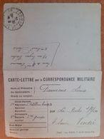Carte Lettre Pour La Correspondance Militaire.artillerie Lourde 1914.G 7 /24 - 1914-18