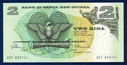 PAPUA NEW GUINEA 2 KINA P-5a SIGNATURES: ToRobert + Morauta 1981 - 1987 UNC - Papoea-Nieuw-Guinea