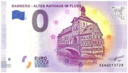 Billet Souvenir - 0 Euro - Allemagne - Bamberg (2020-1) - Autres