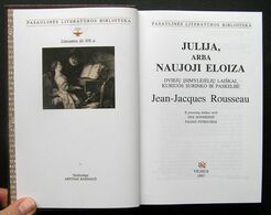 Lithuanian Book / Julija, Arba Naujoji Eloiza Rousseau 1997 - Libros, Revistas, Cómics