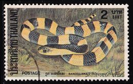 Thailand Stamp 1981 Snakes 2 Baht - Used - Tailandia