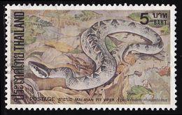 Thailand Stamp 1981 Snakes 5 Baht - Used - Tailandia