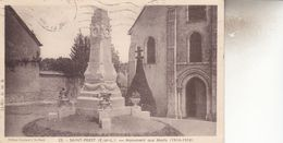 SAINT PREST  MONUMENT AUX MORTS - Autres Communes