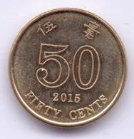 HONG KONG 2015: 50 Cents, KM 68 - Hong Kong