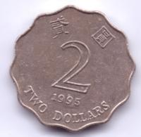 HONG KONG 1995: 2 Dollars, KM 64 - Hong Kong