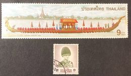 Thailandia 8 BAHT 1996 USATO GIUBILEO D'ORO + 9 Baht Nuovo Lievi Pieghe  COD FRA.1705 - Tailandia