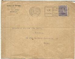 BELGICA 1920 CC CON MAT BRUXELLES JUEGOS OLIMPICOS DE AMBERES ANVERS ANTWERPEN OLYMPIC - Summer 1920: Antwerp