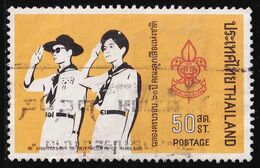 Thailand Stamp 1971 60th Anniversary Of Boy Scouts In Thailand - Used - Tailandia