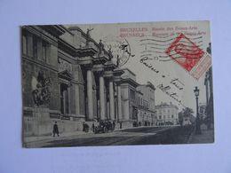 CPA    BELGIQUE  BRUXELLES Musée Des Beaux-Arts 1912 TBE - Musei