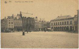ATH : Grand'Place Avec Hôtel De Ville - Ath