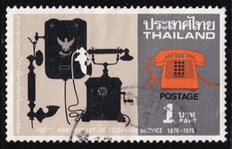 Thailand Stamp 1976 100th Anniversary Of The Telephone Service - Used - Tailandia